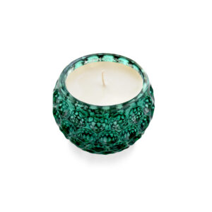 9oz Emerald Mercury Glass Candle