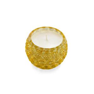9oz Gold Mercury Glass Candle