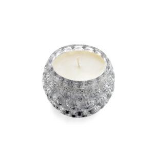 9oz Silver Mercury Glass Candle